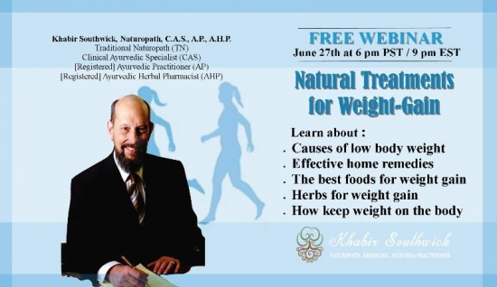 Webinar: Treatments for being Underweight & Weight-Gain