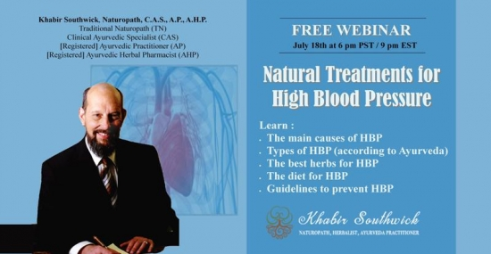 Webinar: Natural Treatments for High Blood Pressure